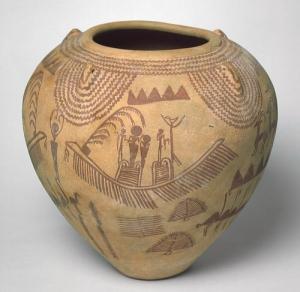 Vessel, Predynastic Period, Naqada II